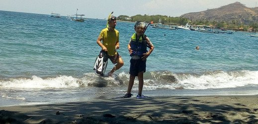 Plongée en mer de Java